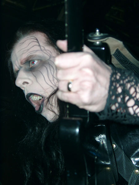 Cradle of Filth + Moonspell – 03 avril 2005 – Elysée Montmartre – Paris