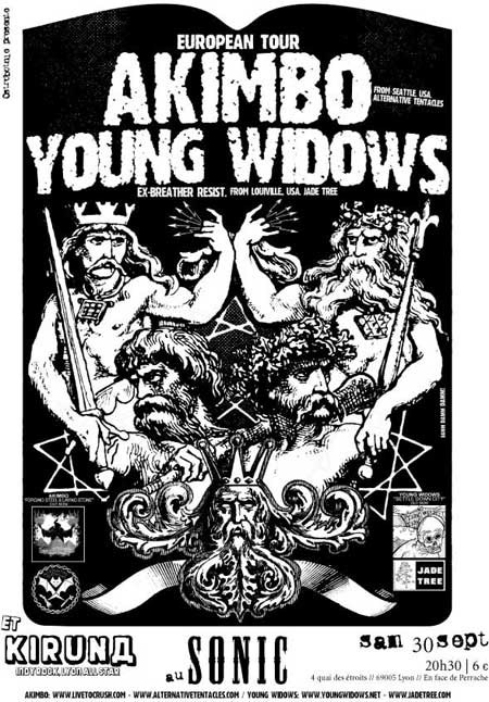Akimbo + Young Widows – 30 septembre 2006 – Le Sonic – Lyon