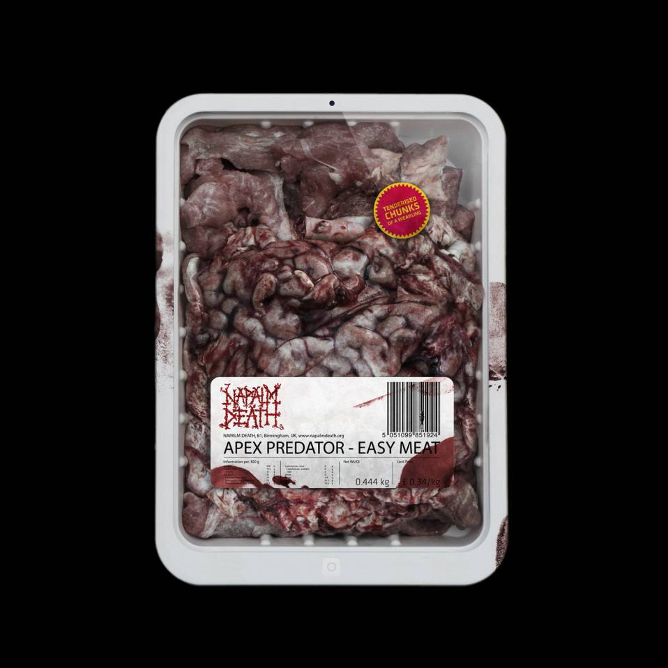 Napalm Death – Apex Predator / Easy Meat