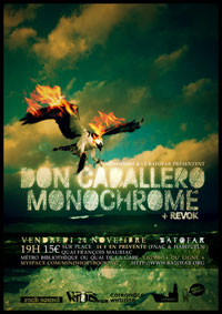 Don Caballero + Monochrome + Revok – 24 novembre 2006 – Batofar – Paris